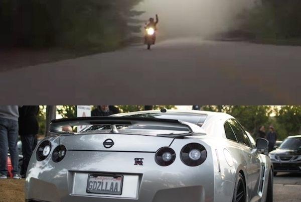 日産GTRの加速力