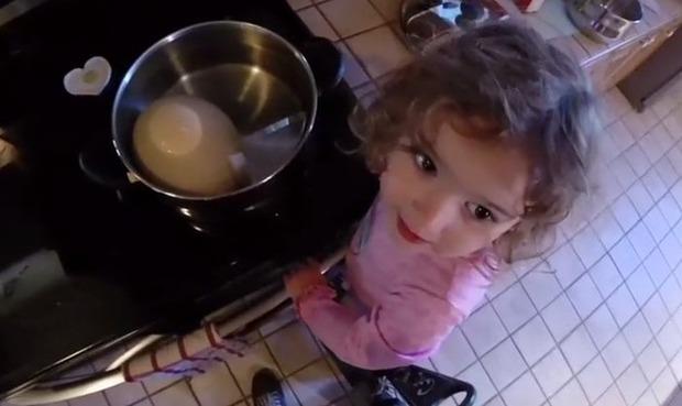 ダチョウのゆで卵
