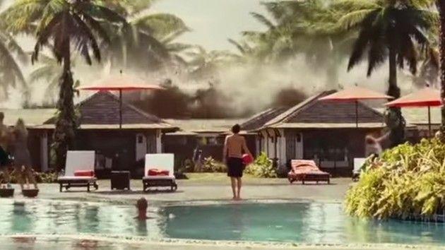 津波のシーンの撮影方法
