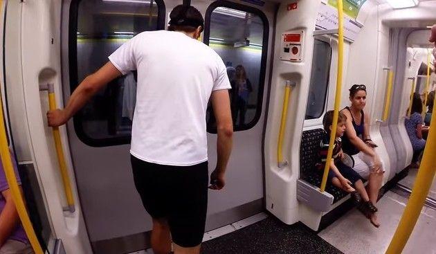 どっちが速いか地下鉄対決