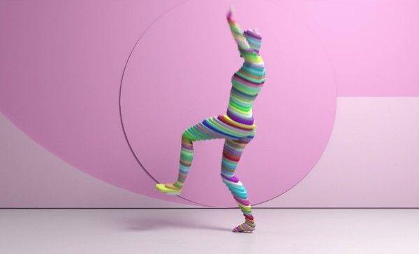 ダンサーの動きをキャプチャ