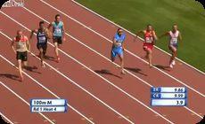 100メートル走で勢いあまって膝破壊。 (1)