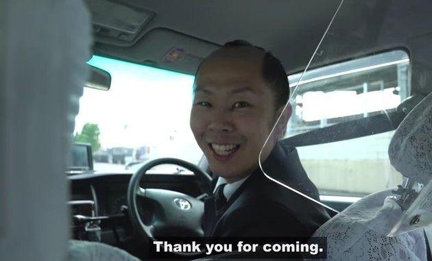 サムライちょんまげタクシードライバー