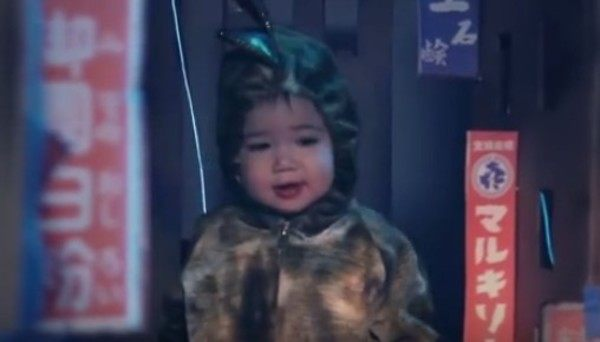 外国人が作った赤ちゃんのゴジラ