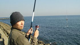 ギャング釣りで貝とか釣ってきた画像 (1)