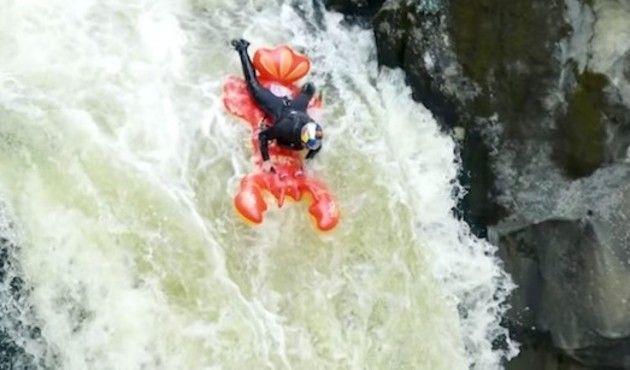 滝つぼに落ちる実験的試み