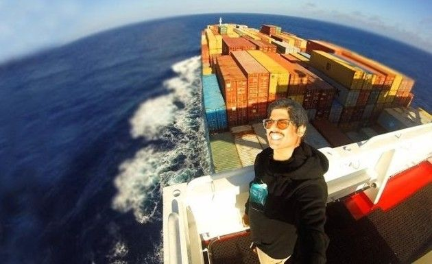 貨物船の船員の生活