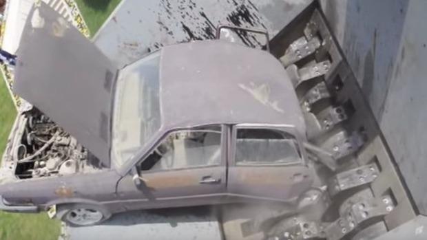 車のシュレッダー