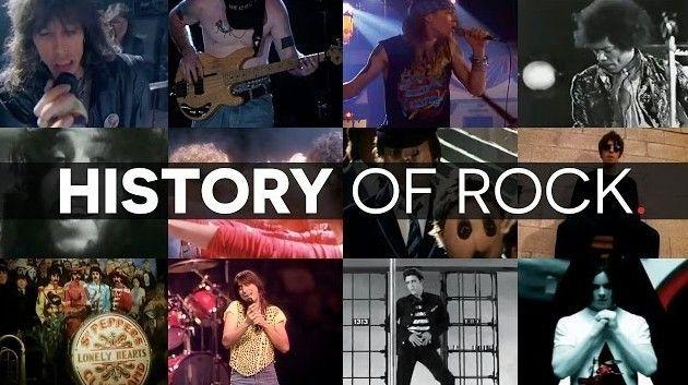 ロックの歴史マッシュアップ