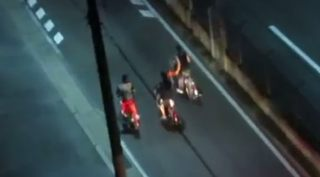 福岡の自転車珍走団