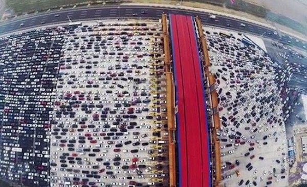 中国の交通渋滞