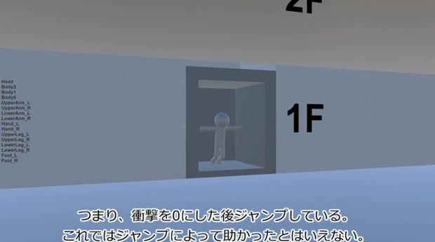 エレベーター落下実験