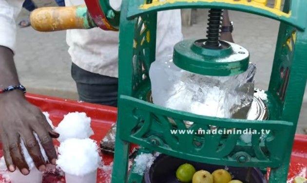 【動画】 インドの色んな「カキ氷屋さん」の屋台が個性的過ぎるwww!!
