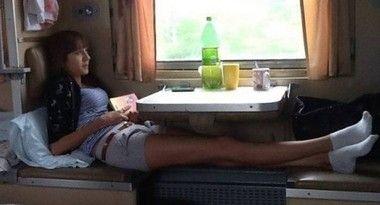 世界一ムラムラする夜行列車ロシア