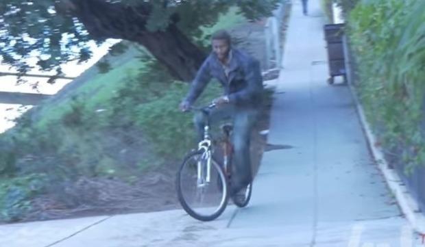 自転車泥棒への制裁イタズラ
