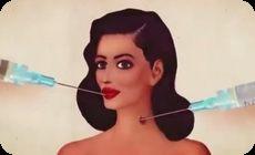 美容整形手術のアニメーション
