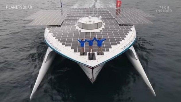 ソーラーボート