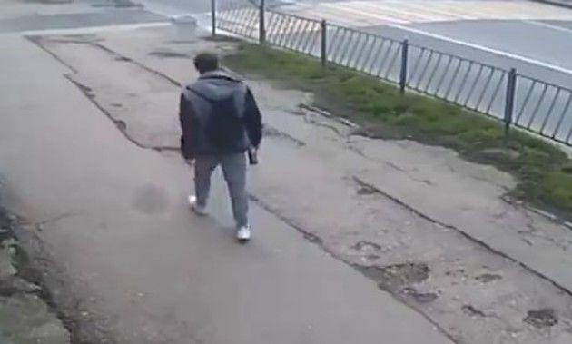 歩行者のもの凄い交通事故