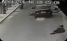 中国での交通事故映像