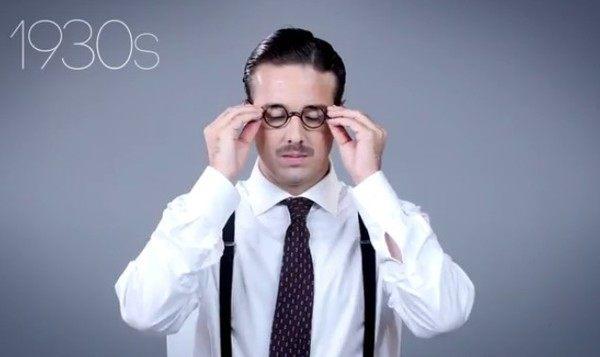 眼鏡のデザインの歴史