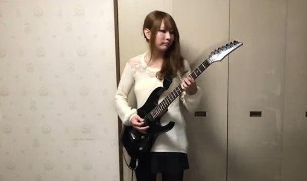 日本女子の超絶ギター