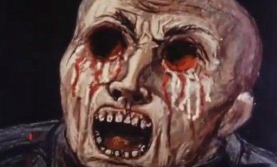 イギリスの核の恐怖のアニメーション