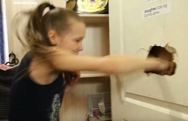 ボクシング少女再び