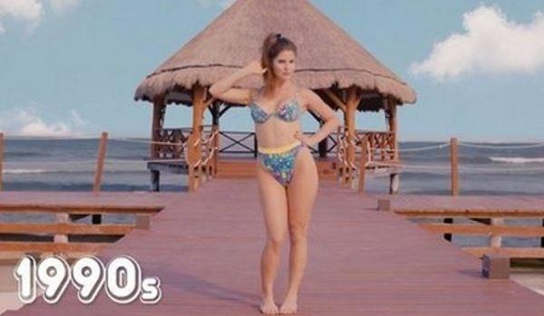 女性の水着の流行