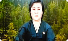 キムジョンイル死去女性アナウンサー