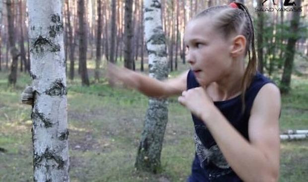 ガチなボクシング少女