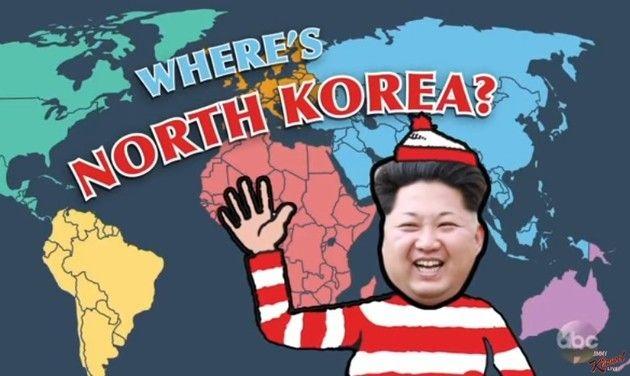 北朝鮮の場所が分からないアメリカ人 (1)