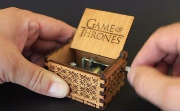 素敵なオルゴールの箱