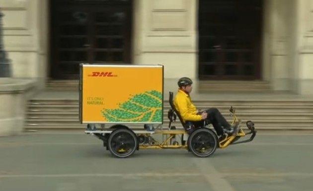 ドイツで人気の自転車カーゴバイク