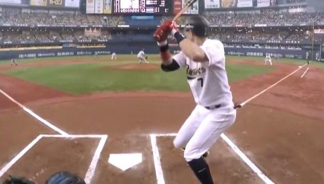 審判カメラで野球を見る