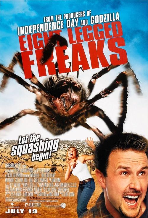"""「スパイダー パニック!」(""""Eight Legged Freaks""""2002米国・豪州)"""