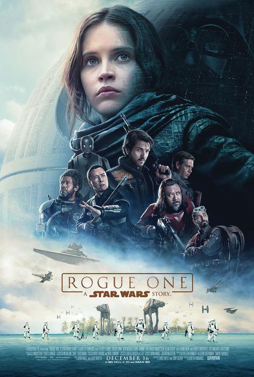 """「ローグ・ワン/スター・ウォーズ・ストーリー」(""""Rogue One:A STAR WARS Story""""2016米国)"""