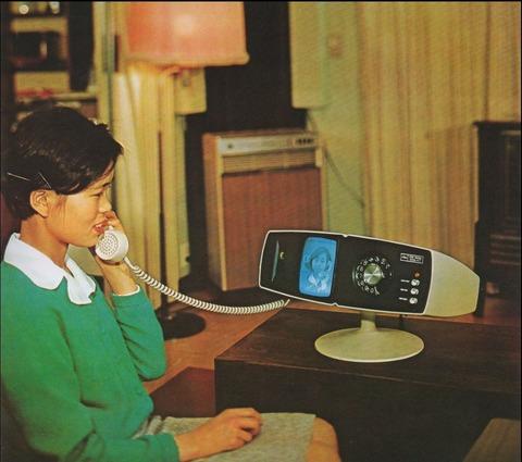 昭和のテレビ電話