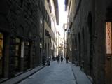 フィレンツェの路地