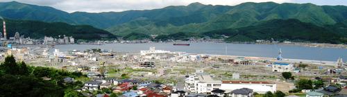 大船渡山からの撮影