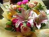 会社からのお花
