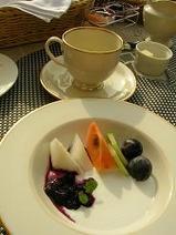 テラス朝食7