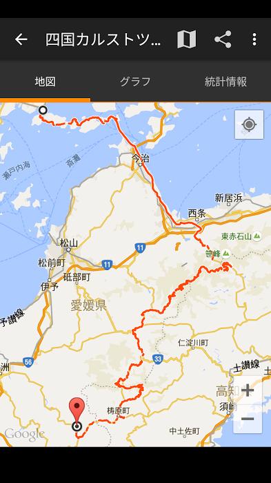 四国カルスト行き