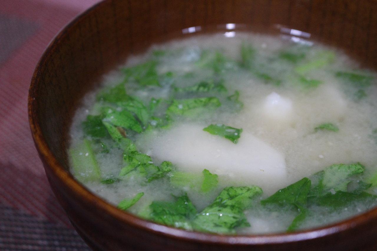 スープ 大根 の 葉