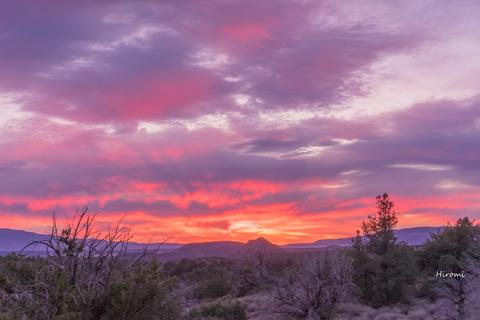 lr blog sedona Sunset fr golf course-08093