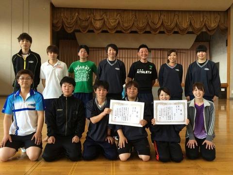 クラブ選手権入賞写真