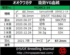YG20C1-14ラベル