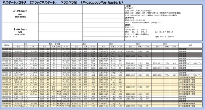 ブラハス管理表