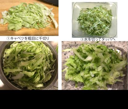 オイルキャベツの作り方