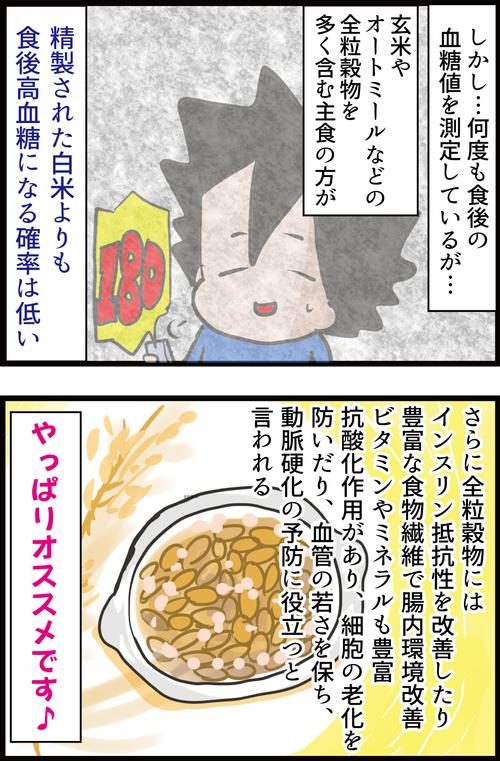 玄米やオートミールは本当に白米より血糖値スパイクを抑えることができるのか?2