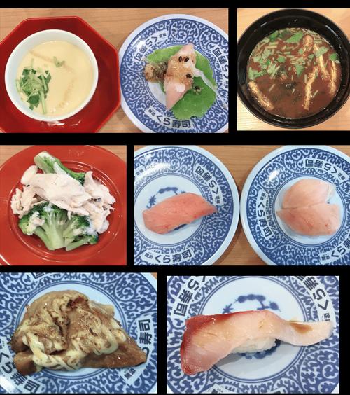 くら寿司食べた皿